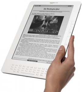 "The Kindle 9"" DX International"