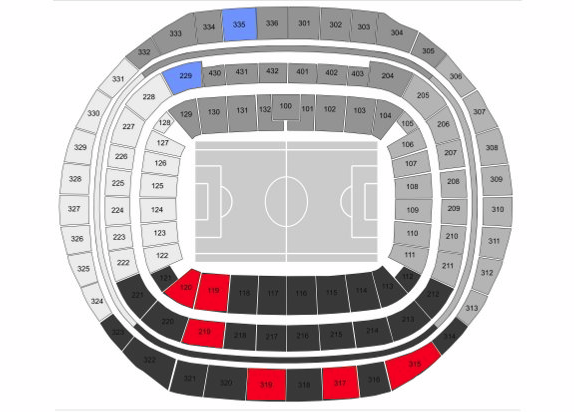 Tickets still available for Uruguay vs Netherlands